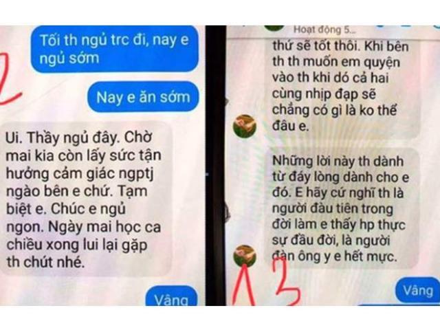 Nghi vấn thầy nhắn tin gạ tình trò: Gia đình nữ sinh không muốn kỷ luật thầy