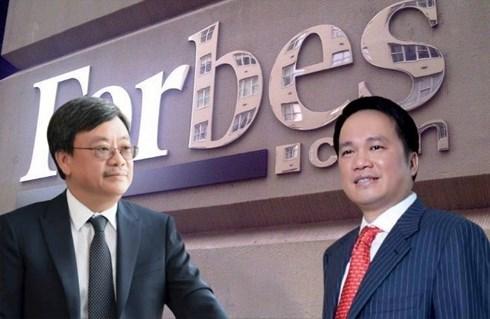 """2 tỷ phú đô la mới """"lộ diện"""" của Việt Nam đang có bao nhiêu tiền? - 1"""