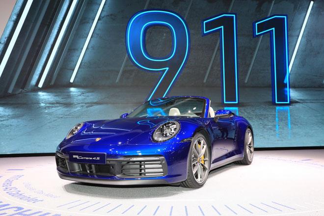 Ảnh thực tế Porsche 911 Cabriolet thế hệ mới tại Geneva Motor Show 2019 - 1