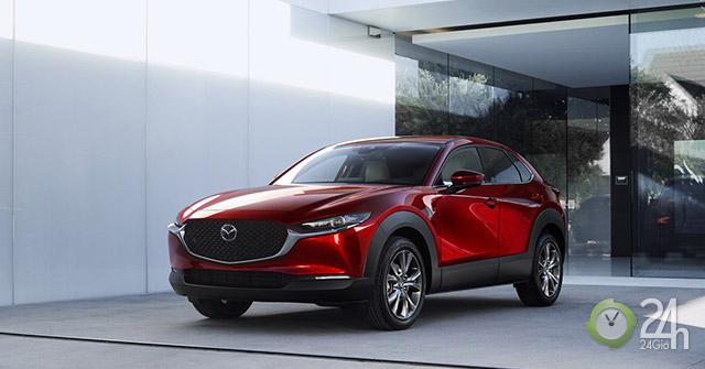 Mazda bất ngờ giới thiệu mẫu crossover CX-30