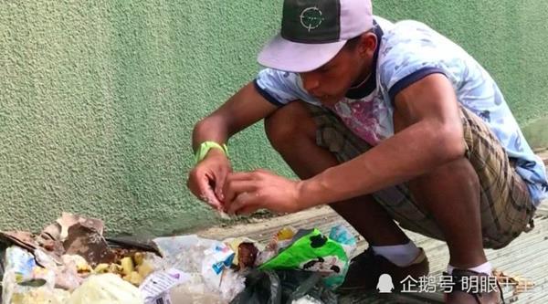 Sốc: thanh niên Venezuela nuôi cả gia đình 5 người nhờ... ăn rác - 1