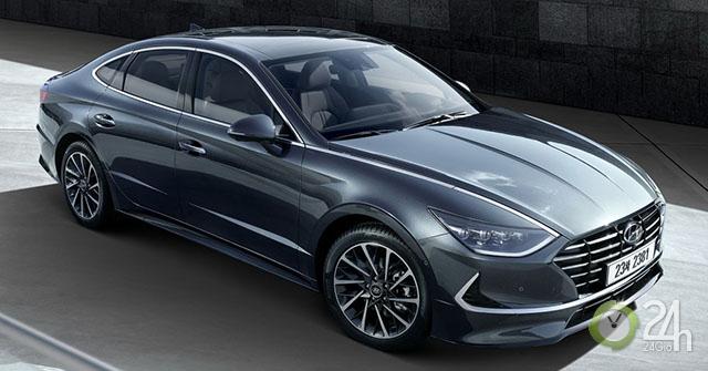 Hyundai Sonata 2020 ra mắt với diện mạo hoàn toàn mới, nội thất như xe Đức