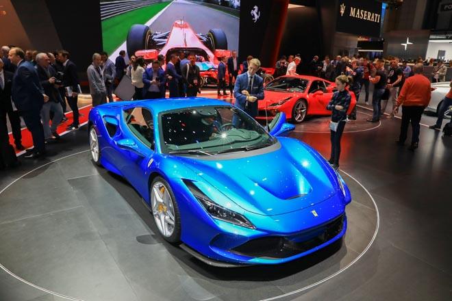 Ferrari trưng bày siêu xe mới nhất tại Geneva Motor Show 2019 - 1