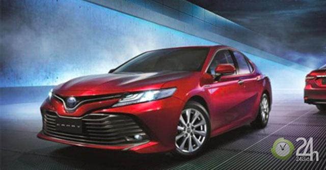 Giá xe Toyota Camry 2019 - Mẫu xe sedan được mong đợi nhất 2019