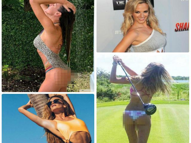"""Mặc bikini đánh golf: """"Mỹ nhân 15m"""" gây sốt hơn cả kỷ lục gia"""