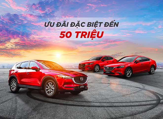 Giá lăn bánh xe Mazda CX5 2019 - Mazda ưu đãi khủng lên đến 50 triệu đồng - 1