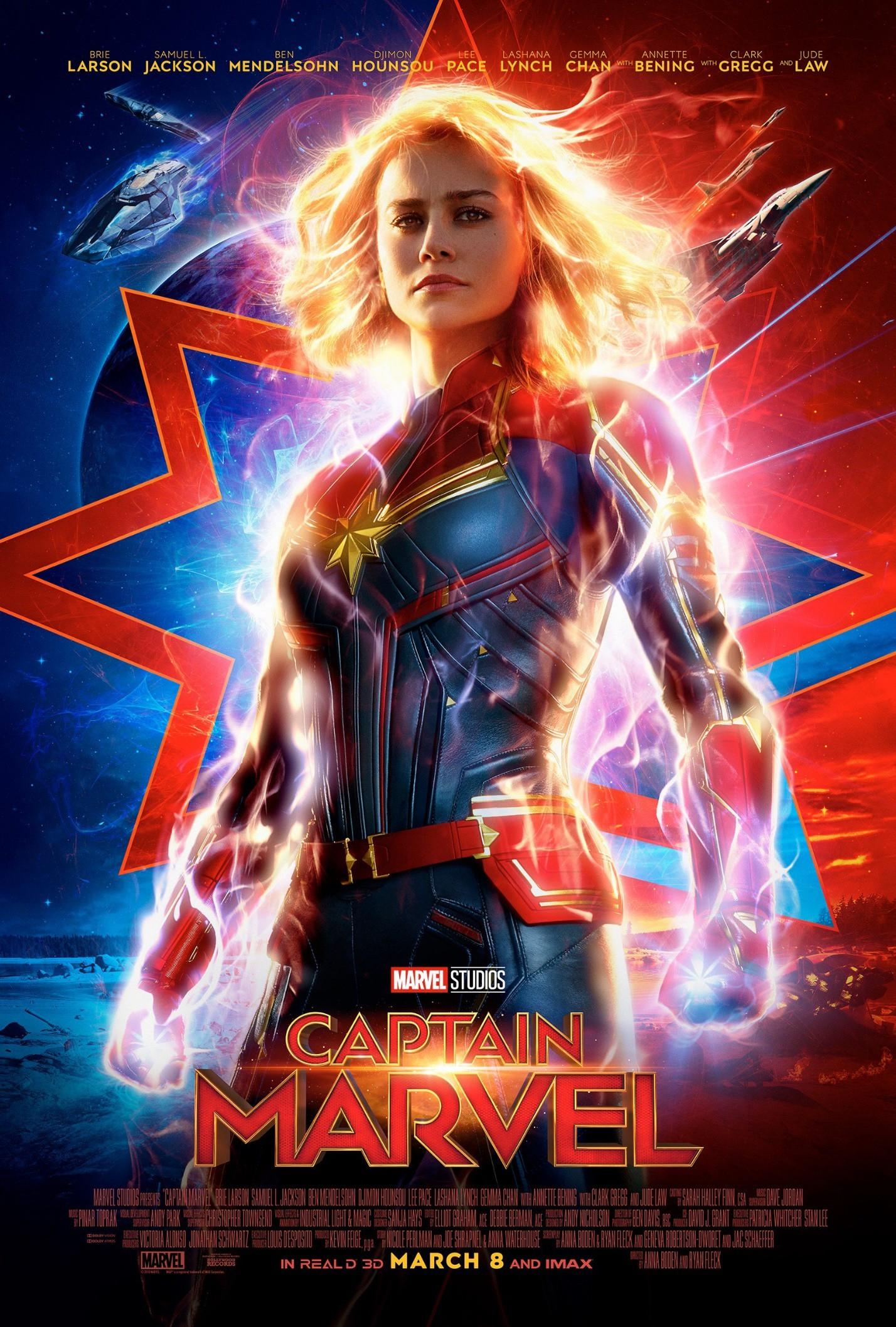 """Sau 3 ngày, """"Captain Marvel"""" đã đạt 455 triệu USD, lật ngược tình thế - 1"""
