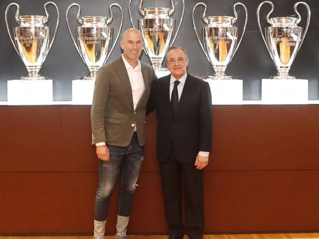 """Zidane trở lại cứu Real: """"Ông trùm"""" cao tay, Zizou cũng chẳng vừa"""