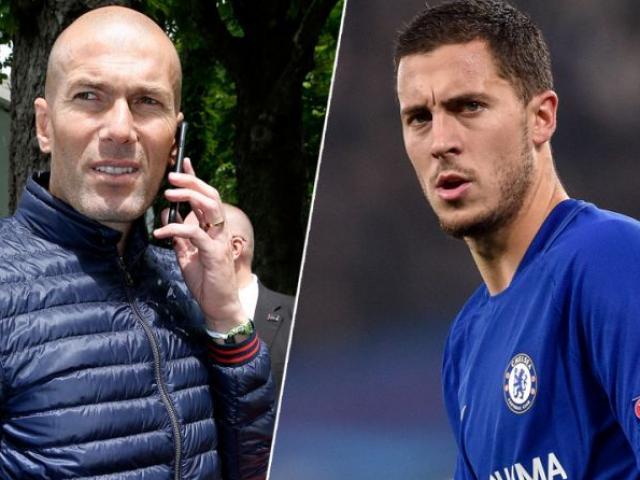 """Chấn động Real: Zidane xây đội hình 1 tỷ euro, Hazard """"bom tấn"""" đầu tiên"""