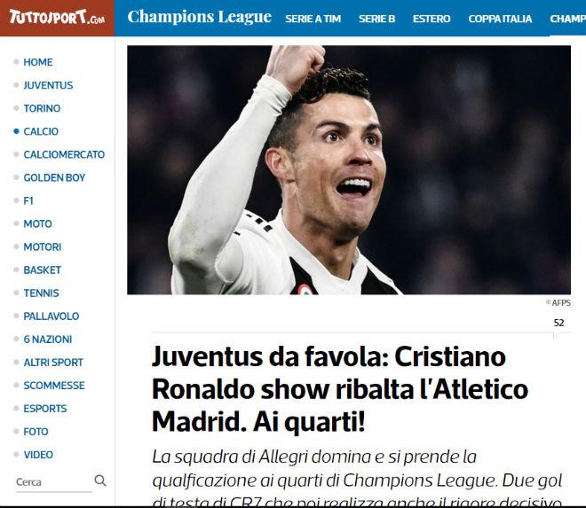 """Juventus thắng kì tích: Ronaldo thăng hoa, báo chí TBN """"đá xoáy"""" Real - 3"""