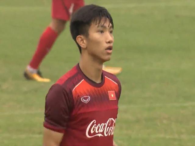 U23 Việt Nam tập đấu Thái Lan: Thầy Park tung chiêu mới với Văn Hậu