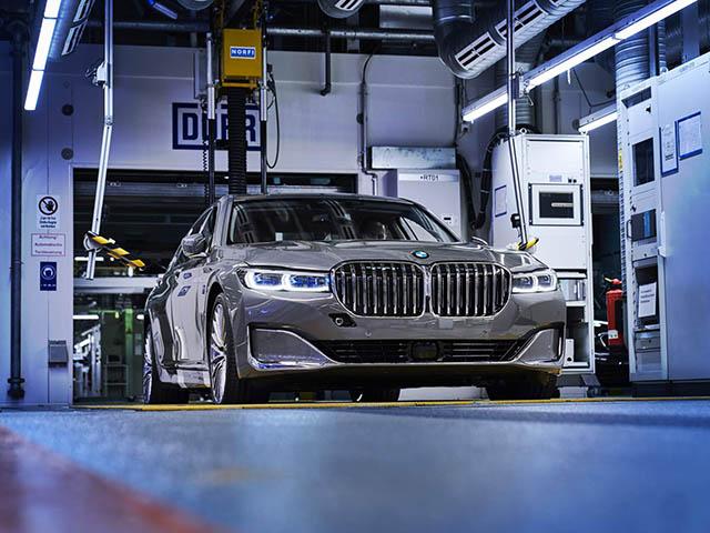 BMW 7-Series 2020 thế hệ mới đã bắt đầu lên dây chuyền sản xuất