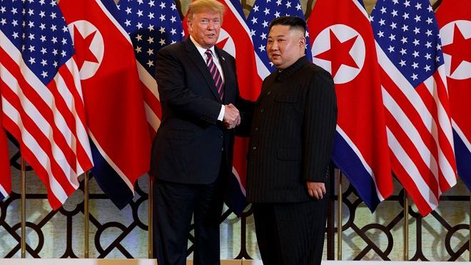 """Triều Tiên dọa thử tên lửa nếu Mỹ tiếp tục hành động như """"xã hội đen"""" - 1"""