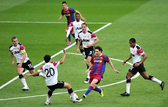 """Bốc thăm tứ kết cúp C1: MU đụng """"khắc tinh"""", mơ chung kết kinh điển Ronaldo - Messi - 1"""