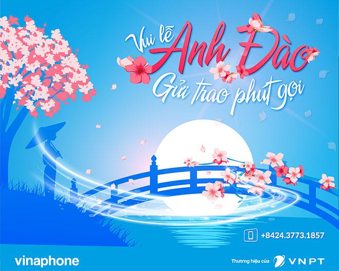 Khách hàng VinaPhone đi xem hoa anh đào được tặng 25% cước chuyển vùng quốc tế - 1