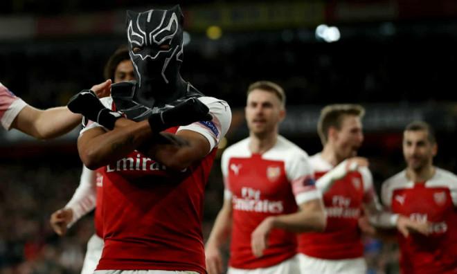"""Arsenal - Rennes: Chiến binh """"báo đen"""" rực sáng, 3 đòn ngược dòng - 1"""