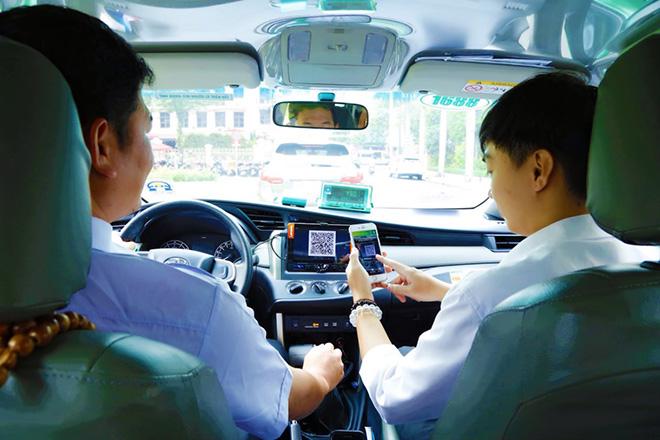Đã có thể trả cước taxi Mai Linh mà không cần dùng tới tiền mặt hay thẻ - 1