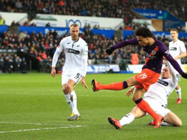 Swansea - Man City: Ngược dòng nghẹt thở, bàn thắng oan nghiệt