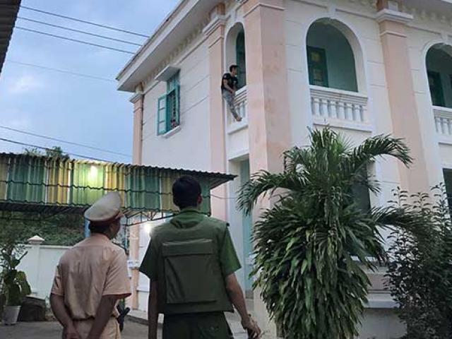 """Nam thanh niên nghi """"ngáo đá"""" quậy trụ sở Viện KSND tỉnh Bình Thuận"""