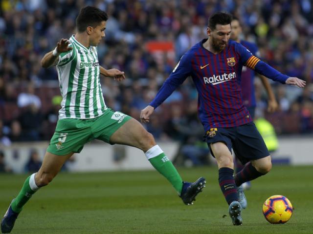 Nhận định bóng đá Real Betis – Barcelona: Tính sổ lượt đi, Messi sẽ cảnh báo MU