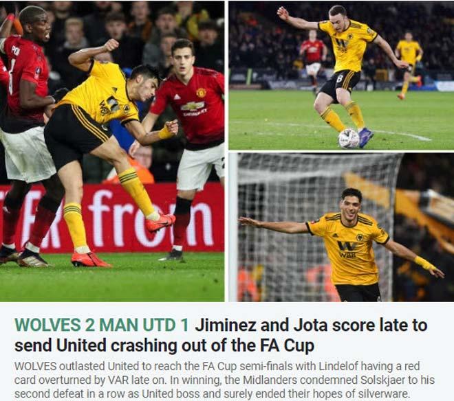 """MU """"gây sốc"""" ở FA Cup: Báo chí tán dương đối thủ, công kích Solskjaer - 2"""