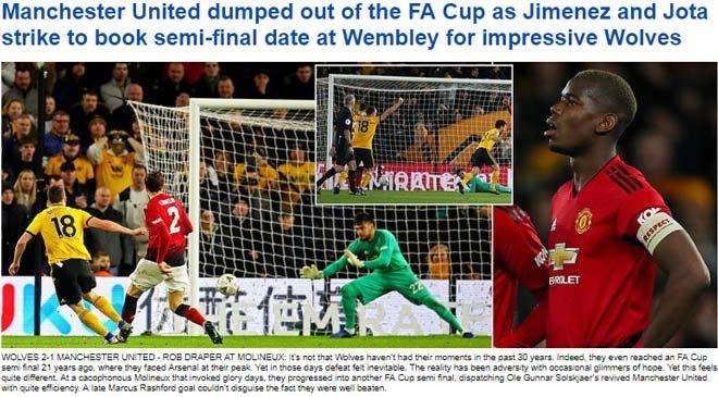 """MU """"gây sốc"""" ở FA Cup: Báo chí tán dương đối thủ, công kích Solskjaer - 1"""