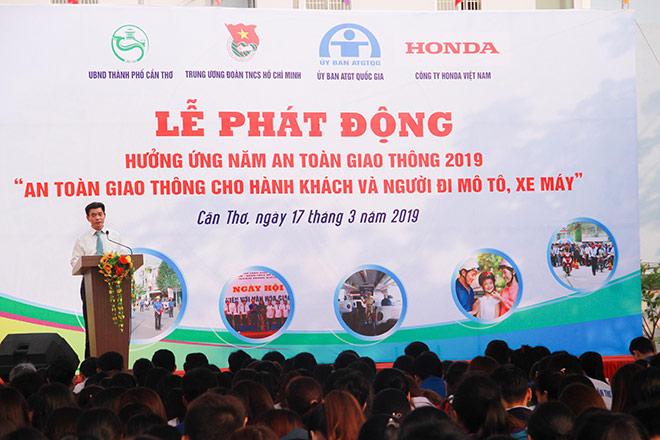 Honda Việt Nam phối hợp tổ chức Lễ phát động hưởng ứng Năm an toàn giao thông 2019 - 1