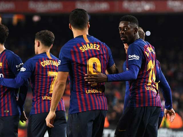 """MU mừng lớn ở Cúp C1: Hàng công Barca """"nát như tương"""", Messi cô độc"""