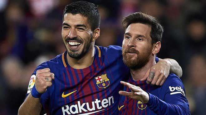 """MU mừng lớn ở Cúp C1: Hàng công Barca """"nát như tương"""", Messi cô độc - 1"""