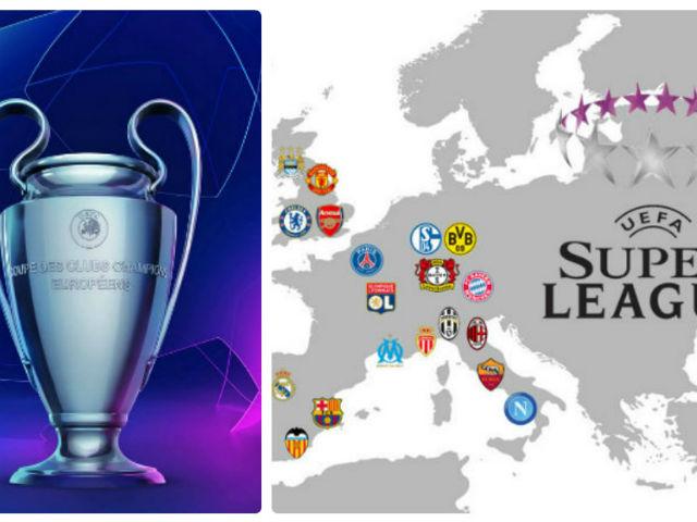 Siêu cải tổ cúp C1: Ngỡ ngàng xem MU đấu Real, Barca ngoài châu Âu