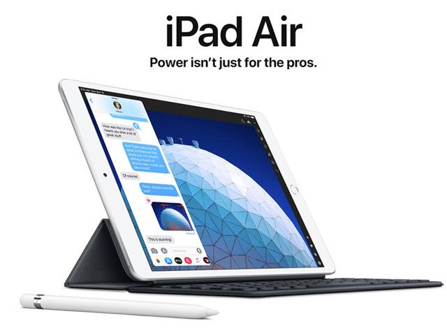HOT: Apple trình làng iPad Air mới siêu mỏng, siêu nhẹ