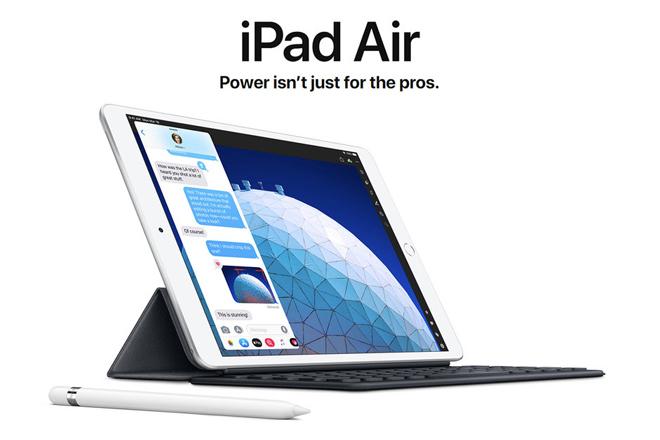 HOT: Apple trình làng iPad Air mới siêu mỏng, siêu nhẹ - 1