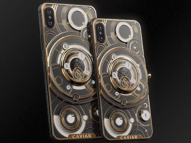 Chiêm ngưỡng iPhone XS Max lắp tourbillon xa xỉ giá 200 triệu đồng
