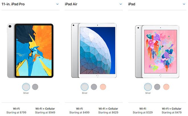 Chọn iPad Air 10.5 inch, iPad Pro hay iPad 9.7 inch? - 1