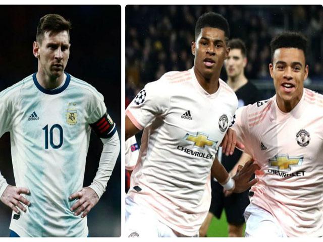 """Messi cực khỏe đấu MU cúp C1: Nghi giả chấn thương """"trốn"""" ĐT Argentina"""