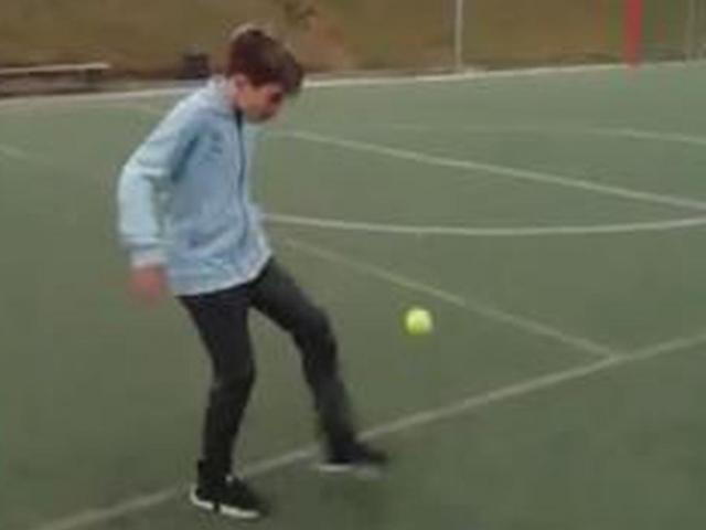 """SAO child 13 times he lifted the ball over 198 tennis Messi: Real Madrid """"Order"""""""