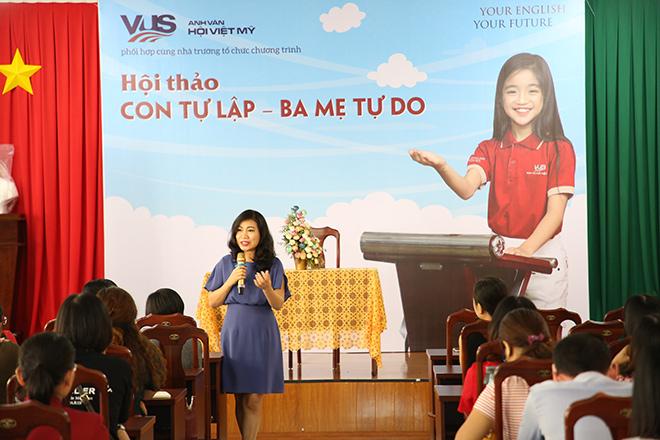 VUS cùng Mẹ Xu Sim học cách thảnh thơi dạy con tự lập - 1