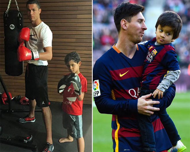 Sports concussion: Ronaldo - Messi to decide boxing grudge against the floor - 1