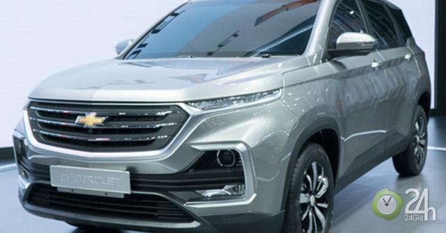 Chevrolet Captiva 2019: Hồn Trung Quốc trong thương hiệu xe Mỹ