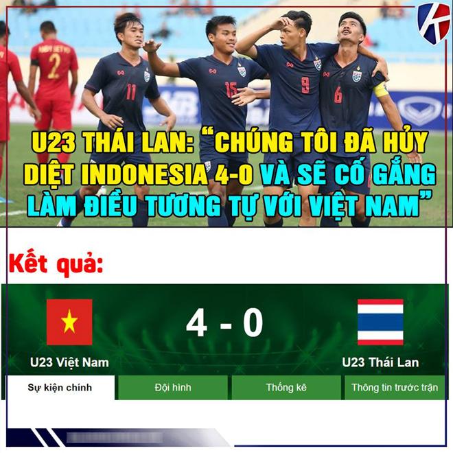 """Loạt ảnh chế Việt Nam """"vùi dập"""" Thái Lan hot nhất MXH tuần qua - 1"""