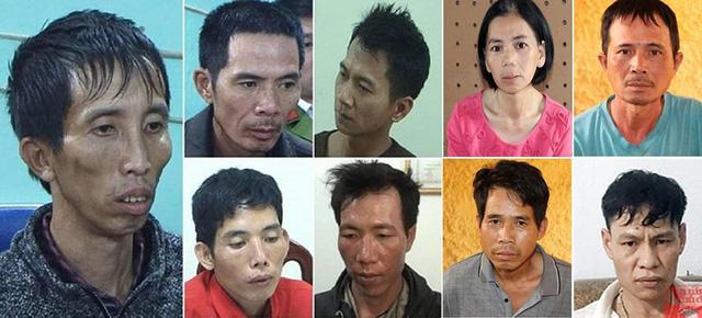 Giật mình mối liên hệ của 9 nghi phạm trong vụ nữ sinh giao gà bị sát hại - 1