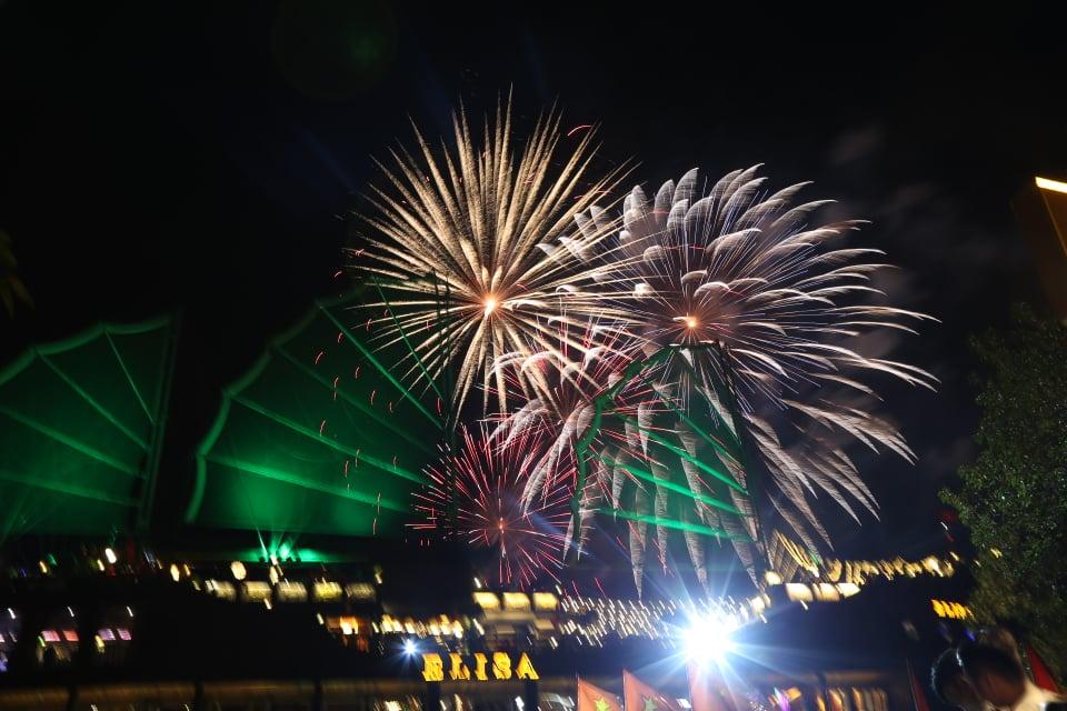 Pháo hoa rực rỡ chào năm mới 2020: Khởi đầu một thập kỷ mới - 1