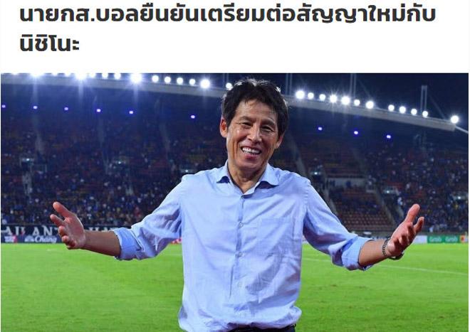 Thái Lan gia hạn với siêu HLV Nhật Bản: Hé lộ sốc về mục tiêu tại U23 châu Á - 1
