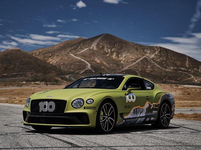 Tận mục sở thị phiên bản Pikes Peak mới của Bentley Continental GT
