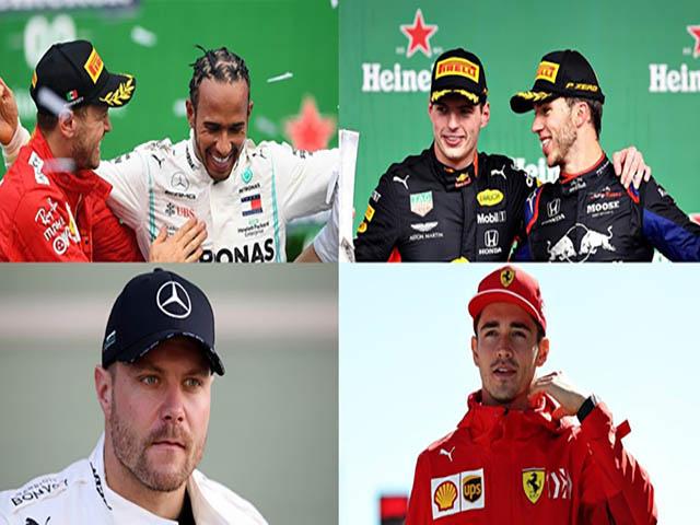 """Thể thao - Đua xe F1, 10 kỷ lục mới năm 2019: Thế hệ trẻ chung tay """"viết trang sử"""" mới"""
