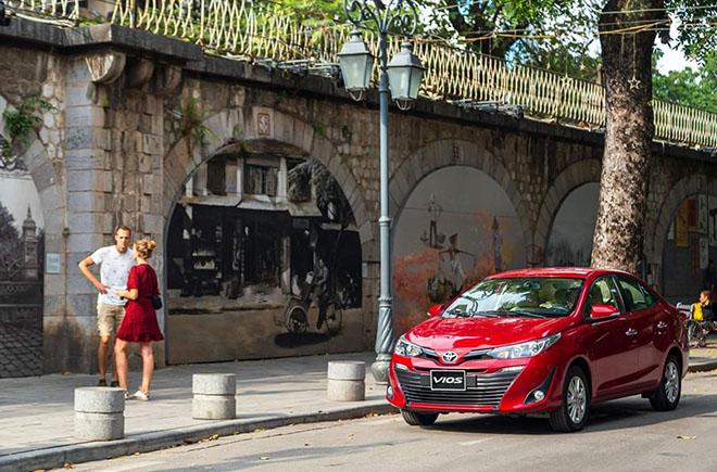 Toyota Vios 2020 được nâng cấp những gì? - 1
