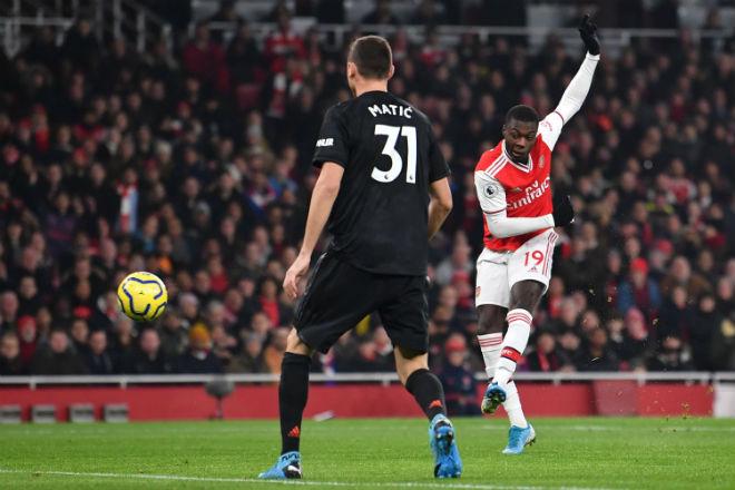 """Arsenal thắng MU: HLV Arteta cùng """"Pháo thủ"""" tạo nhiều cột mốc đáng nhớ - 1"""