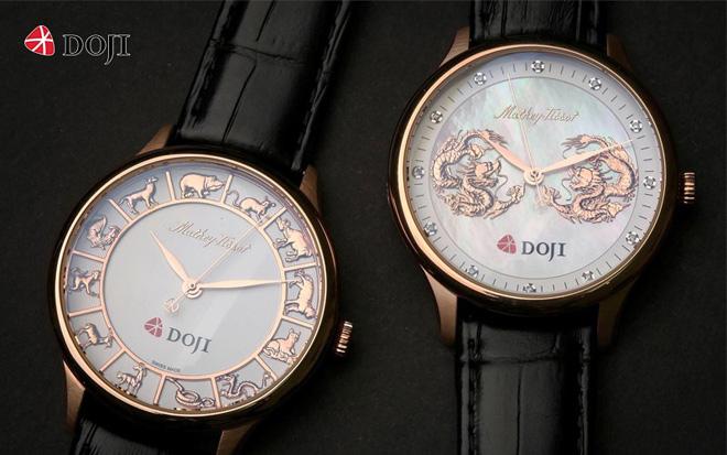 """Mua đồng hồ - tặng vàng 9999, DOJI tung khuyến mại """"khủng"""" ngay thềm năm mới - 1"""