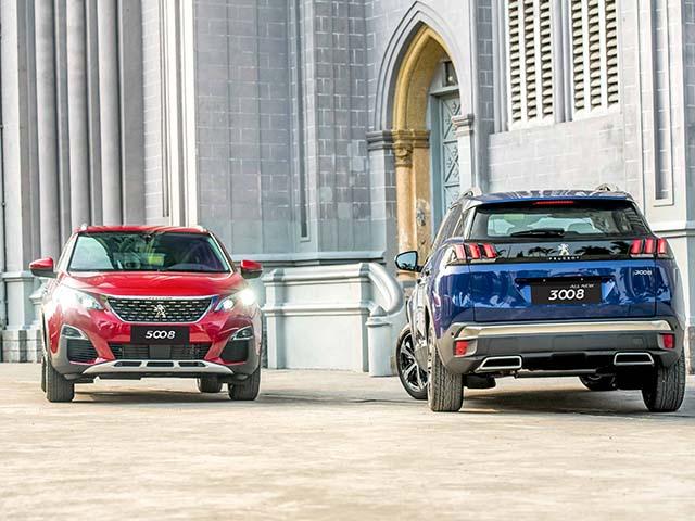 Peugeot bổ xung hai màu mới cho dòng SUV tại Việt Nam