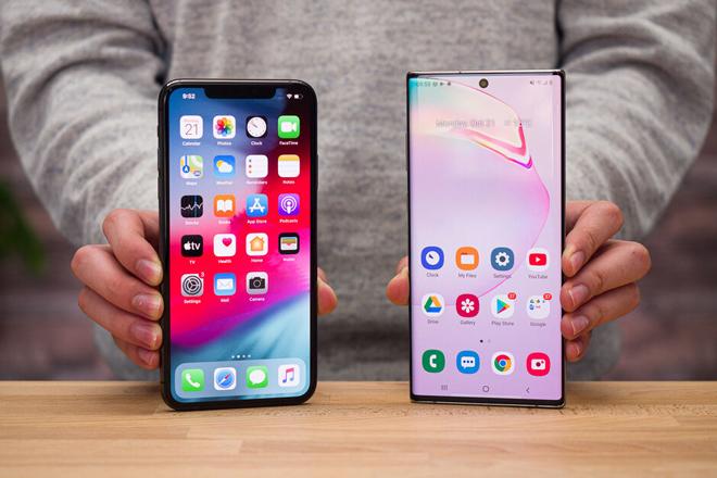 """Samsung và Apple tiếp tục là 2 """"ông lớn"""" tại Mỹ - 1"""